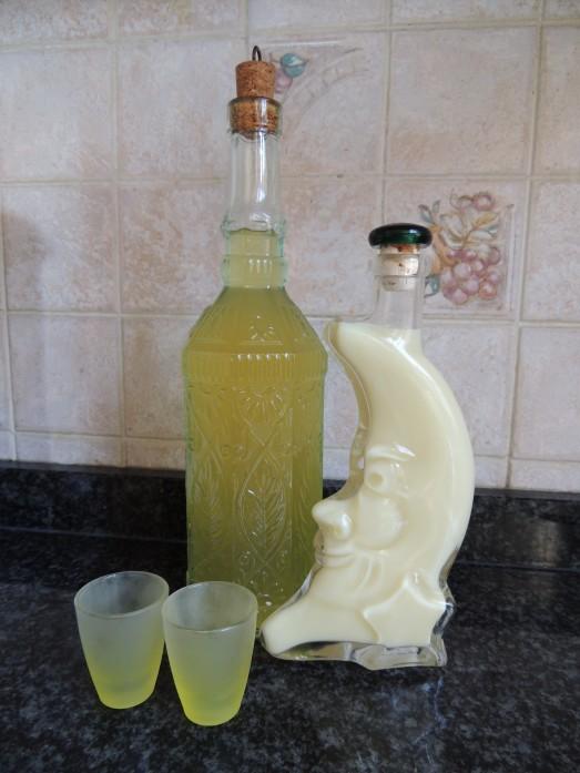 limoncello, crema di limoncello