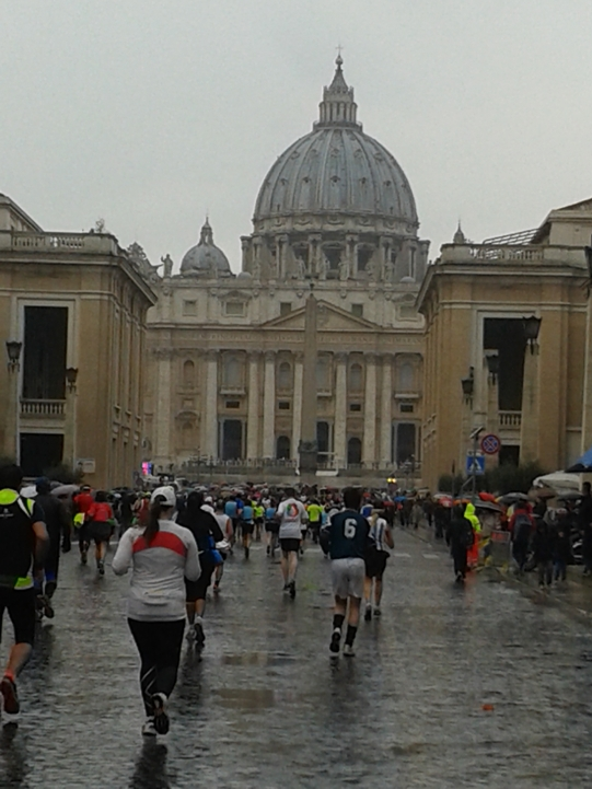 St. Peters marathon rome marathon