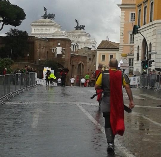 """Gladiator"" Running Rome Marathon"