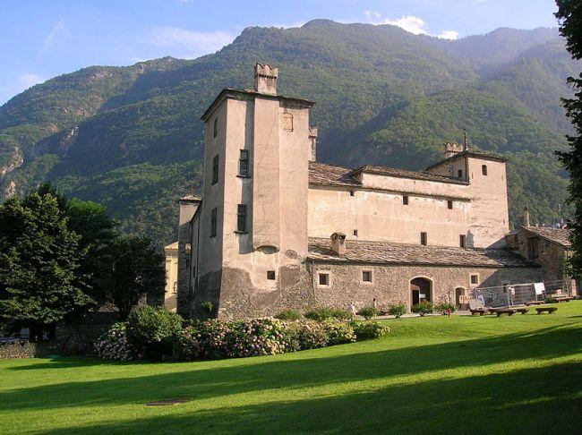 Castle aosta