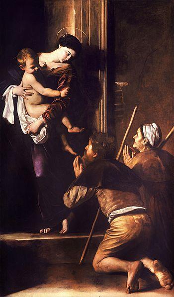 350px-Madonna_di_Loreto-Caravaggio_(c.1604-6)