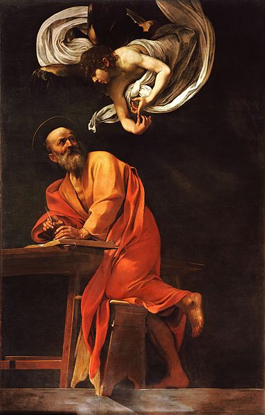 383px-The_Inspiration_of_Saint_Matthew-Caravaggio_(1602)