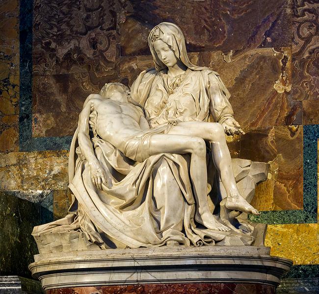 Michelangelo's_Pietà_Saint_Peter's_Basilica_Vatican_City
