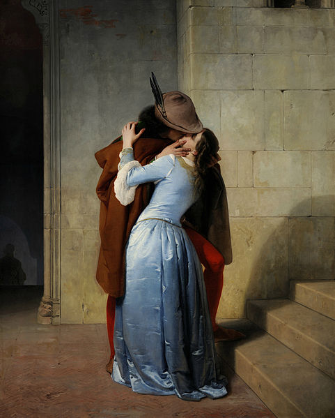 Romance in Italian paintings