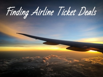 Cheap airline ticket deals and sites