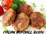 Italian Meatball Recipe - How to Make Polpette
