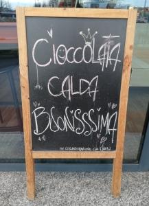 Hot Chocolate in Milan