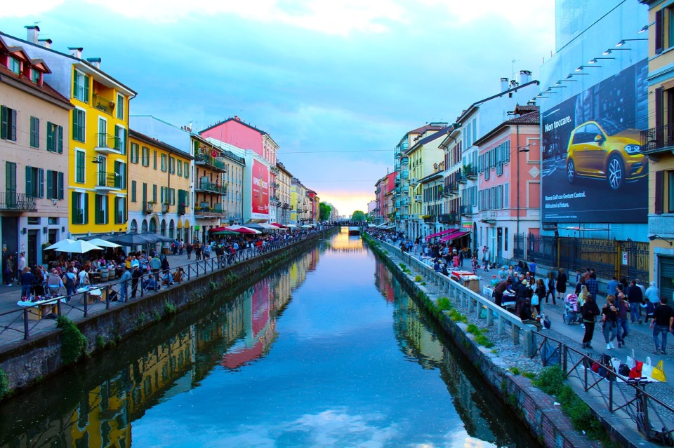 One day itinerary Milan. Italy trip planner