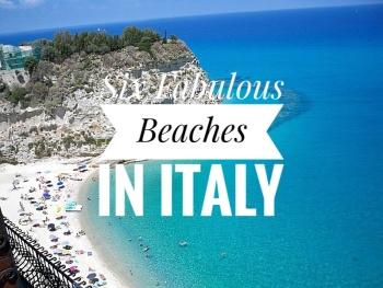 Six Amazing Beaches in Italy
