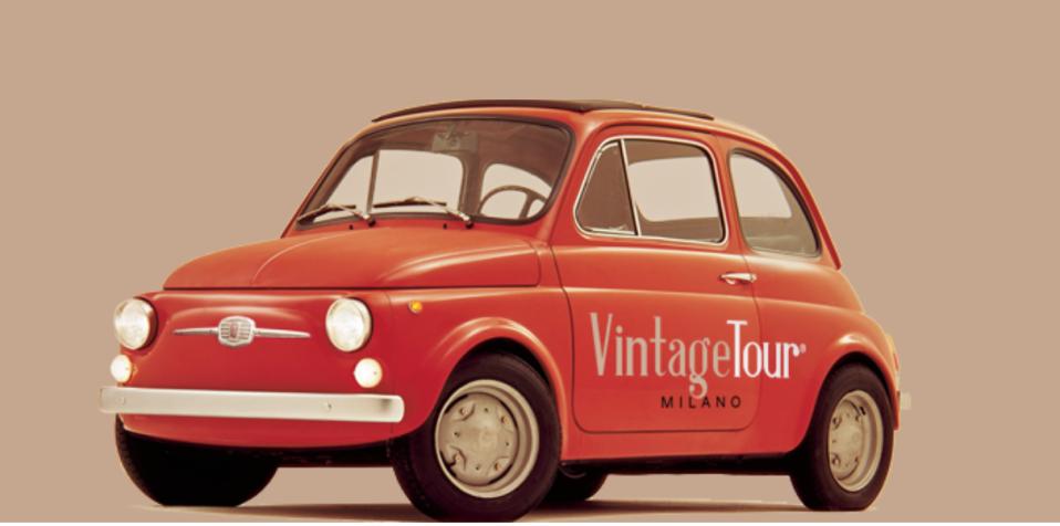 Vintage Fiat 500 Tours Milan