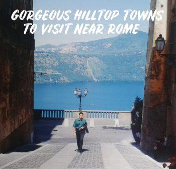 Hilltop Towns Near Rome