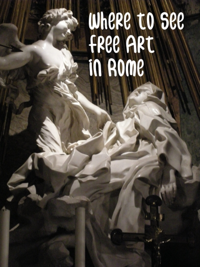 Where to Find Free Art in Rome