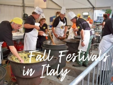 Fun Fall Festivals in Italy