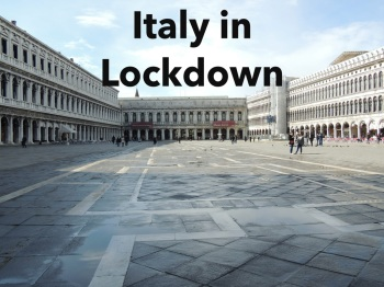 Italy during lockdown, coronavirus, covid19,