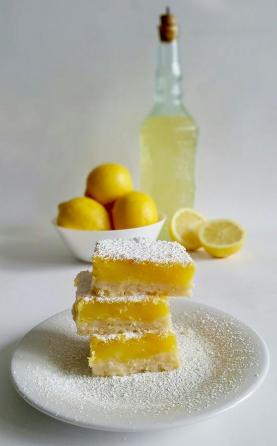 Recipe for Limoncello Bars