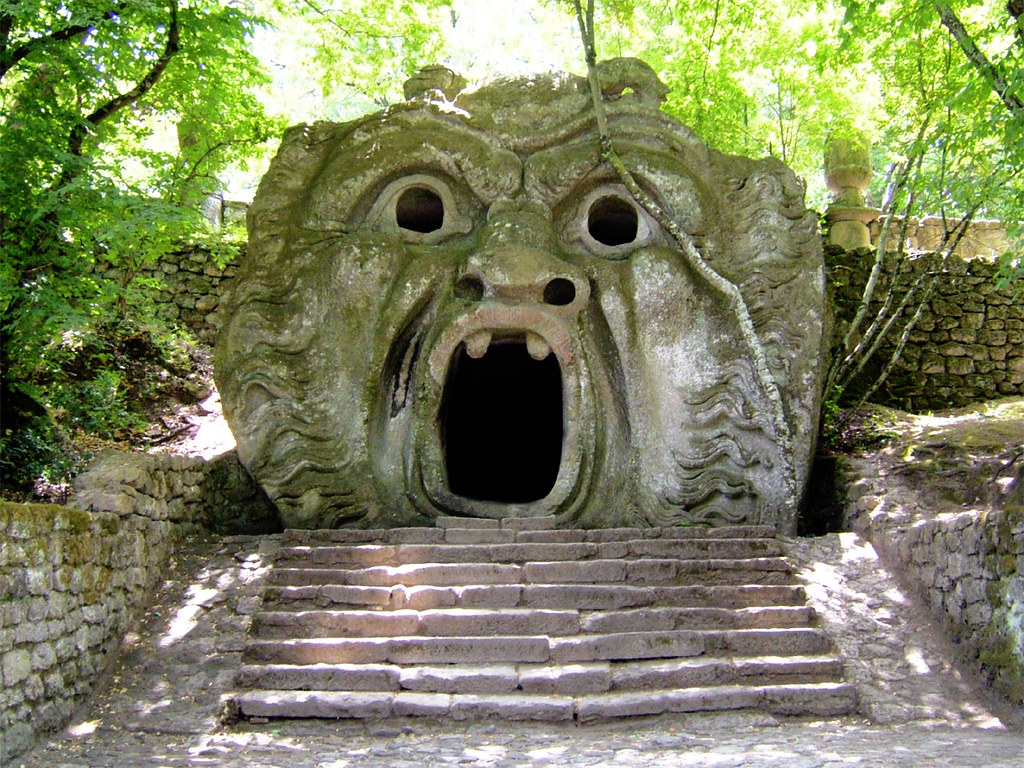 Garden of Bomarzo, day trip from rome